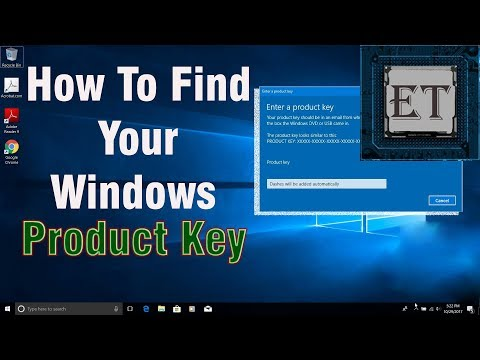 How to Find Your Windows Product Key [Windows 10, 8.1, 8, 7] - The Easy Way (2018)
