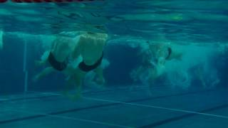 Водное поло под водой. Underwater.