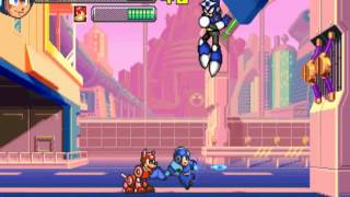 Mega Man 2 The Power Fighters ~1996 Capcom~ Arcade MAME megaman2