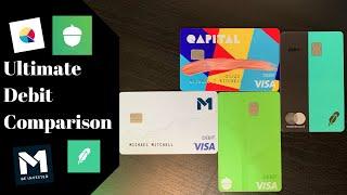 Gambar cover Ultimate Debit Card Comparison   Robinhood vs Acorns vs M1 Finance vs Qapital