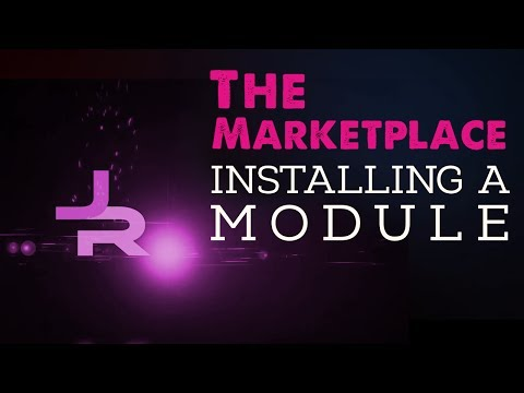 The Marketplace: Installing a Module