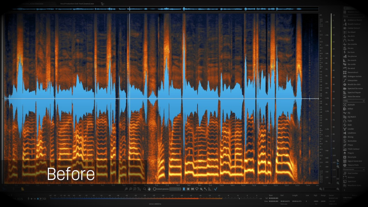 iZotope RX 6 | De-bleed First Look