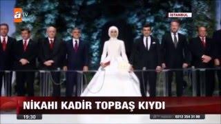 Sümeyye Erdoğan evlendi MAYIS2016