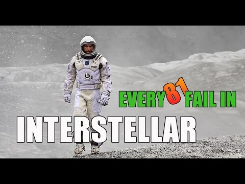 Every Fail In Interstellar | Everything Wrong With Interstellar, Mistakes, and Goofs