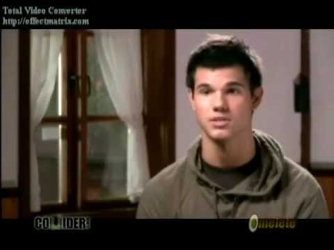 Dreams (Taylor Lautner Video) with lyrics