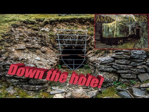 DEEP INSIDE AN ABANDONED WELSH MINE (Silver, Zinc And Lead) VERY DANGEROUS!!!