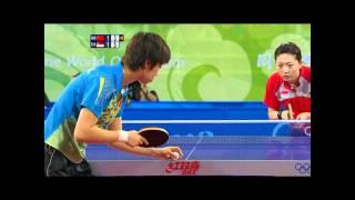 Li Jia Wei Vs Zhang Yi Ning 2008 Beijing Olympics Women's Semi Finals [HD]