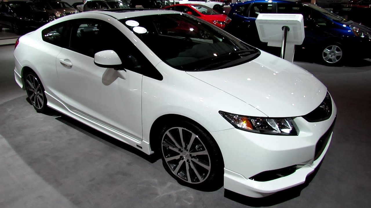 2013 Honda Civic Si HFP   Exterior And Interior Walkaround   2013 Toronto  Auto Show   2013 CIAS   YouTube