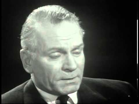 Sir Laurence Olivier : Great Acting 1966 Interview with Kenneth Tynan (5/5)