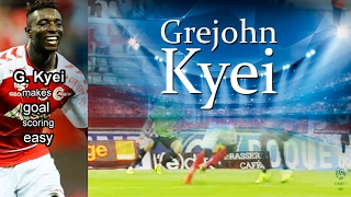 The GiF who makes goal scoring easy: Grejohn KYEI