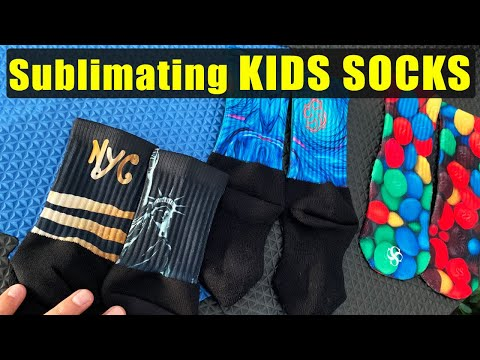 sublimation-of-kids-socks!