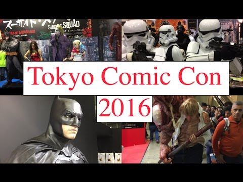 Tokyo Comic Con 2016: Celebrities(Stan Lee, Jeremy Renner, etc.), Cosplays, Movie props and more