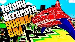 Shark Simulator: TOTALLY ACCURATE SHARK SIMULATOR - Shark Simulator Gameplay