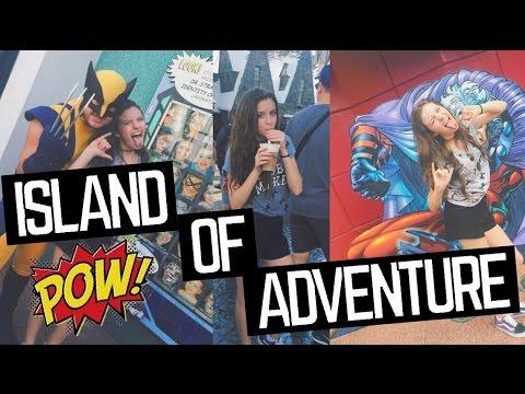 #DaciNosEua 4: ISLAND OF ADVENTURE + HALLOWEEN  UNIVERSAL | Canal Da Daci
