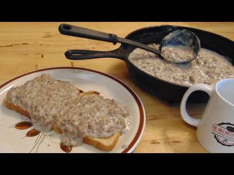 S O S Hamburger Gravy Feed 12 People With 1lb Ground Beef The Hillbilly Kitchen Youtube