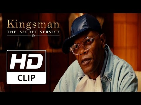 Kingsman: The Secret Service | Colin Firth & Samuel L Jackson 'Spy Movies' | Clip HD