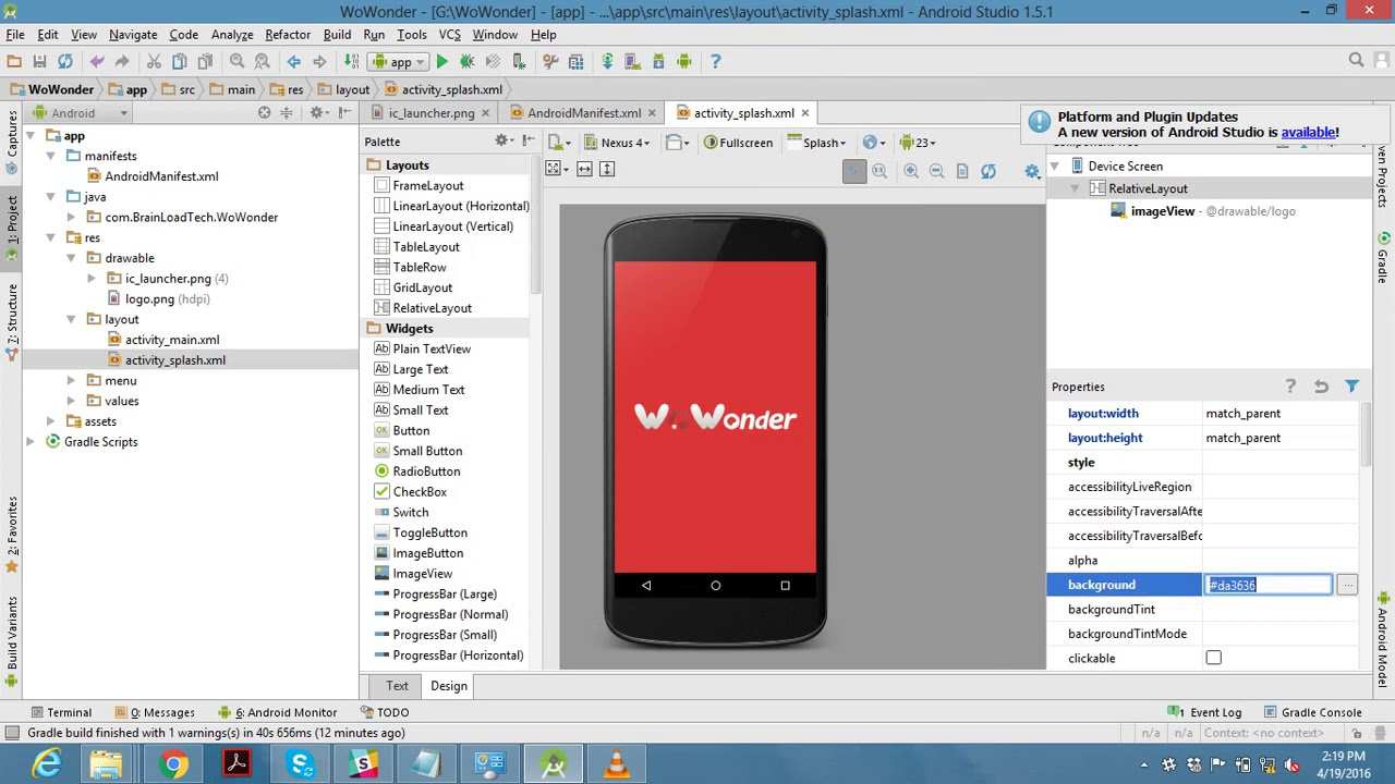 How to setup WoWonder Android application