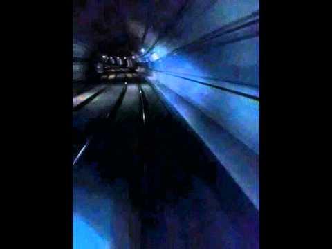 Exploring the Underground - Linha 4 Amarela (Metrô, São Paulo - Brazil) TIMELAPSE