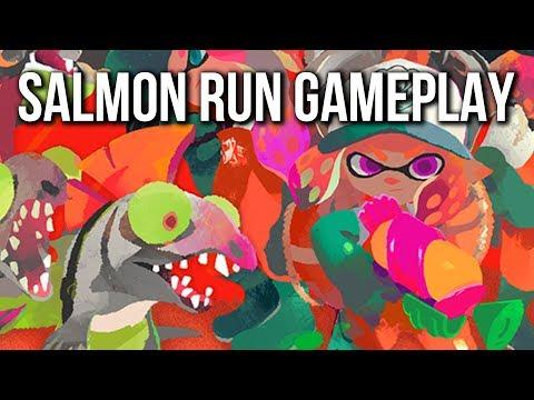Splatoon 2 Salmon Run Gameplay   Nintendo Switch   E3 2017