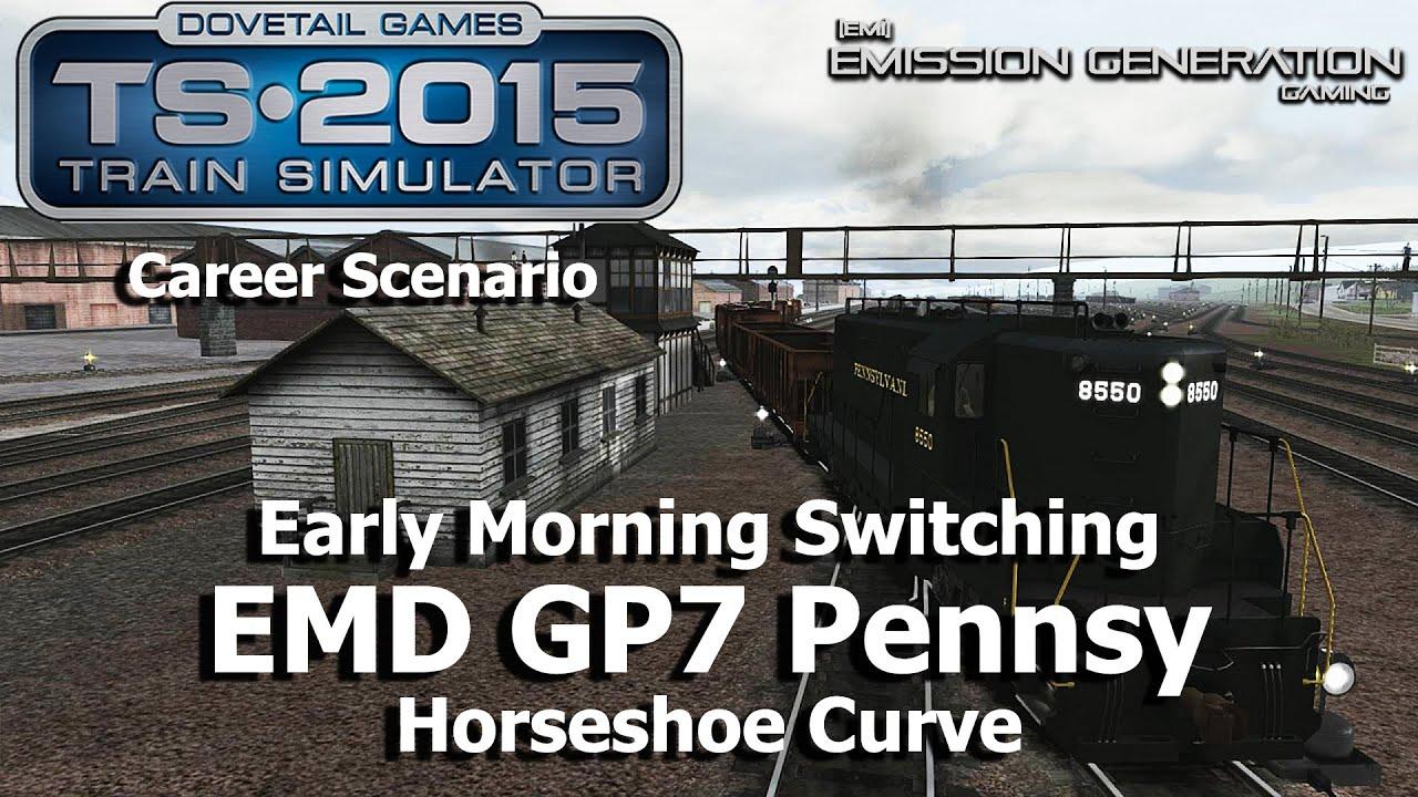 early morning switching career scenario train simulator  early morning switching career scenario train simulator 2015