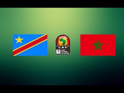CAN TOTAL 2017 - REPUBLIQUE DEMOCRATIQUE DU CONGO VS MAROC ( GROUPE C )