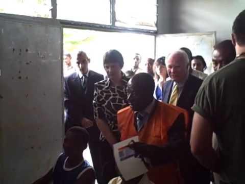 UNDP Administrator Helen Clark Visit to DR Congo