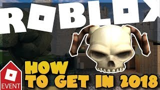 [EVENT][READ DESC] How to get the Skeletal Shoulder Pads 2018| Roblox: Azure Mines