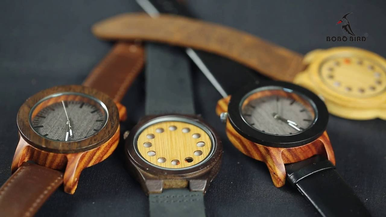 The bobo bird mechanical wooden watch is an absolute classic. A must have for any watch lovers. Mechanical movement means there you avoid the hassle of.