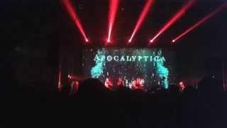 Apocalyptica - Kraków 08/10/2015 - Dead man's eyes