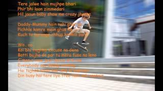 Daddy Mummy Bhaag jonny song lyrics