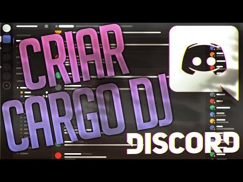 Configurar Cargo DJ em Bot de Música do Discord - Tutorial em Português