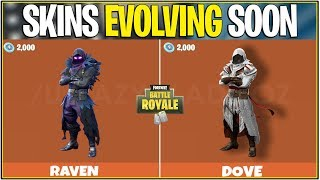 *NEW* Fortnite: CUSTOM/EVOLVING SKINS COMING SOON! | (OG Skins Will Evolve)