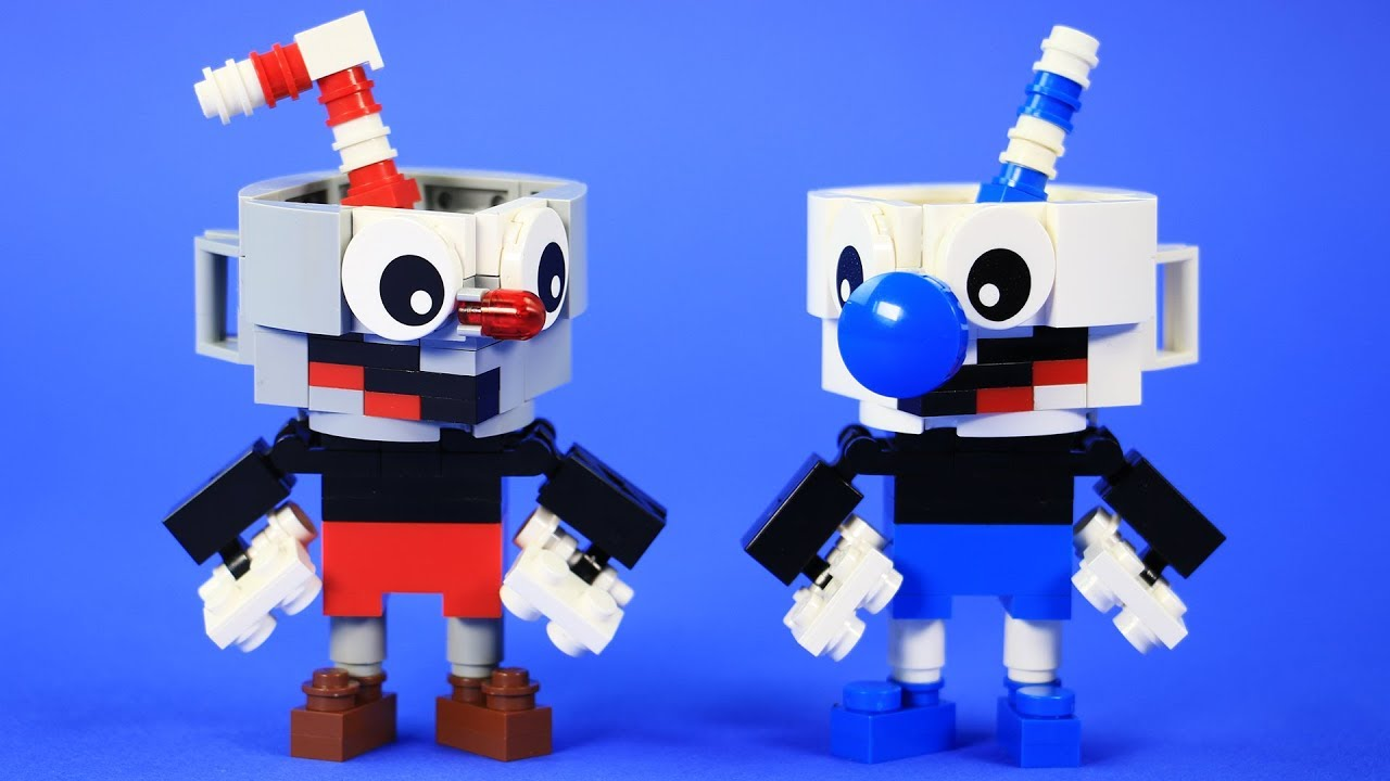 Build A Lego Character Game