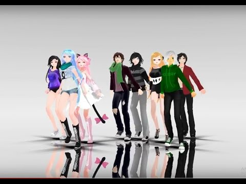 [MMD] Follow the leader | aphmau characters