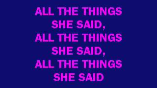 karaoke T.A.T.U. - All The Things She Said.flv