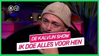 Qucee in tranen door boodschap van kinderen | De Kalvijn Show #1 | NPO 3 TV
