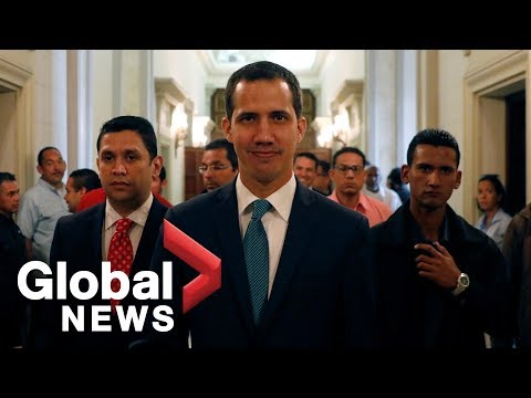 Guaido claims Maduro trying to move $1.2B in public funds to Uruguay Mp3