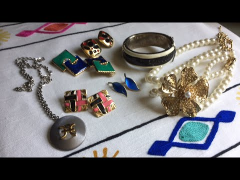 Salvation Army Thrift Vintage Jewelry Haul