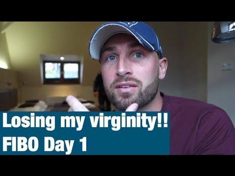 Losing my virginity, bacon, eggs: FIBO Day 1 ft. Zac Aynsley