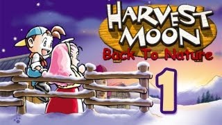 Harvestmoon : Back to Nature - (1) Day One and All of the Cut Scene