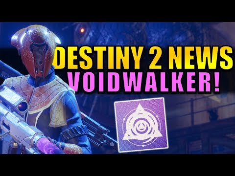 Destiny 2 News: VOIDWALKER GAMEPLAY, Sentinel Gameplay, New PvP Map, BIG Control Changes!