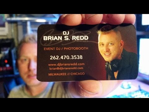 Effective DJ Business Card Design Ideas