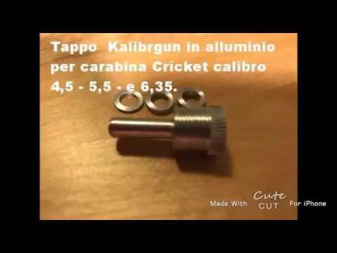Tappo Kalibrgun Cricket  Kit Alta Potenza