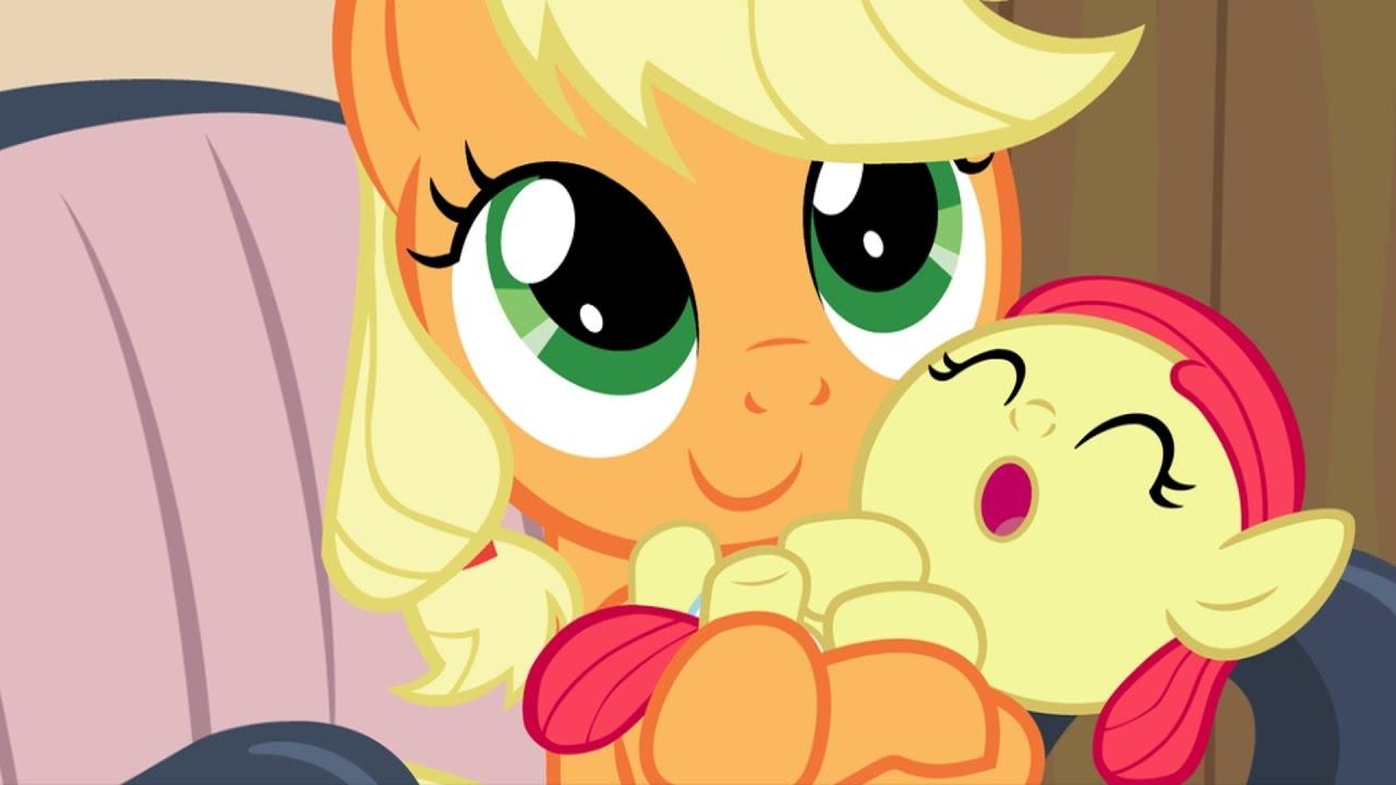 mlp apple bloom is applejacks daughter youtube