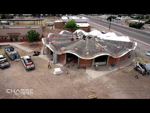 Walter Douglas Elementary School Construction Progress on May 30, 2020