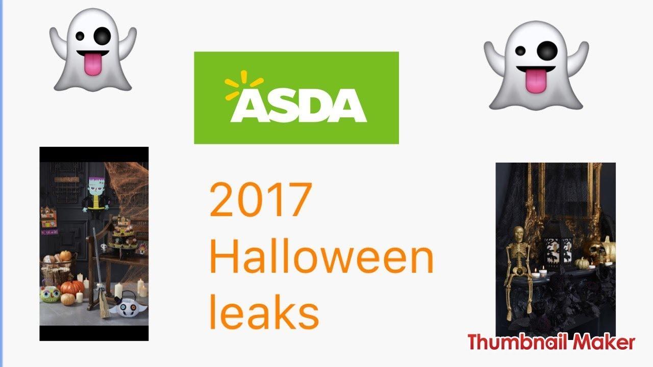 asda halloween 2017 leaked