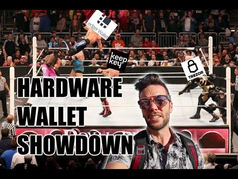 Crypto Hardware Wallet Showdown - Ledger v Keepkey v Trezor
