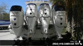 2009 Deep Impact Power Boats 36 2013 Quad Merc Verados 30...