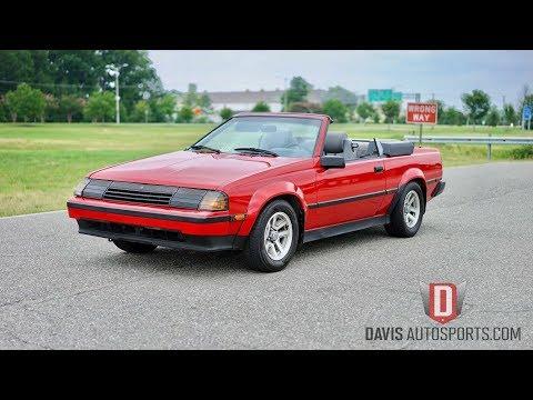 Davis AutoSports 1985 TOYOTA CELICA GT-S CONVERTIBLE .... RARE FIND FOR SALE