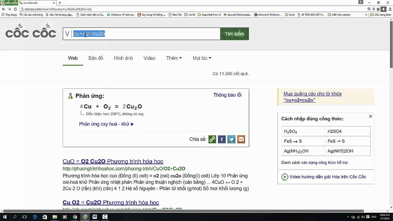 Tìm điều kiện để phản ứng hóa học xảy ra
